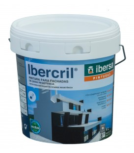 Pintura de color para exteriores IBERCRIL (fachadas)