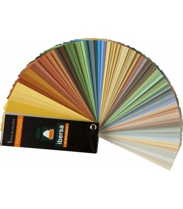 Carta de colores de Fachadas