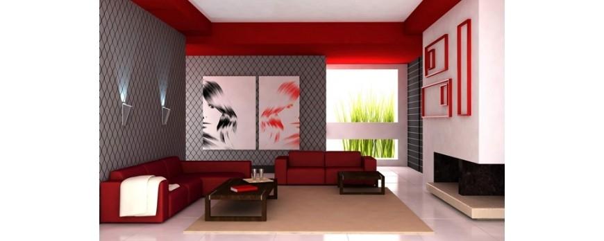 Rojo pasión, color de moda para tu hogar