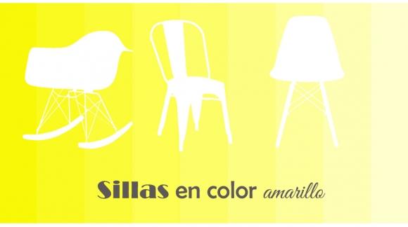 Decoración: Sillas en color amarillo