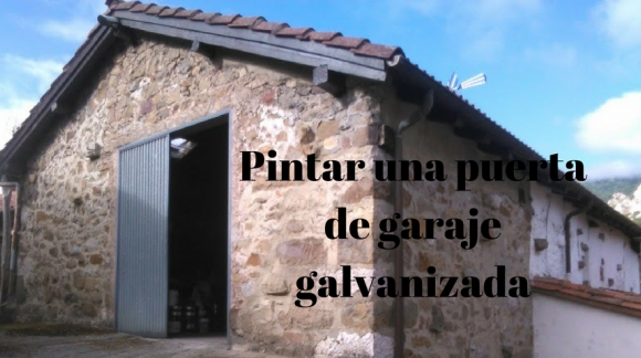 Cómo pintar una puerta de garaje galvanizada