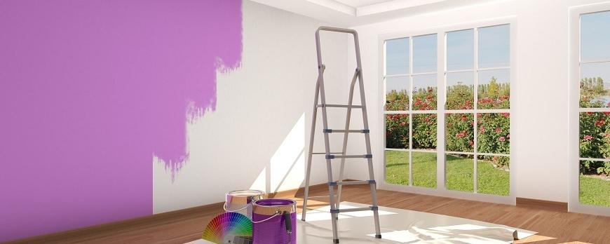 ¿Reformar una casa de manera rápida y fácil? La pintura es la respuesta
