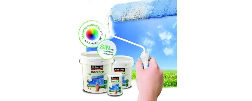 Descubre IBERZERO, nuestra pintura ecológica mate para interiores.
