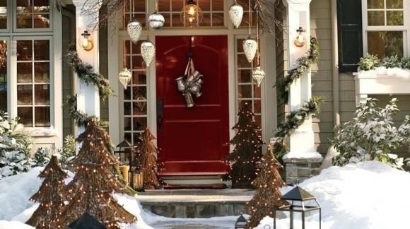 Exteriores navideños ¡La mejor inspiración para tu balcón y terraza!