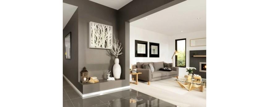 Beneficios de pintar espacio de un mismo color
